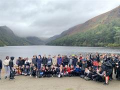 Second years trip to Glendalough