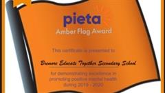 Amber Flag Award for the 3rd Year!