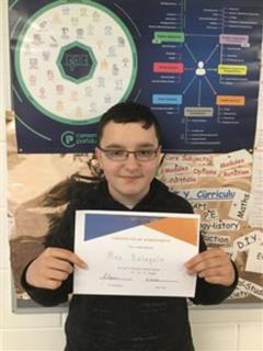 TY student of the week 13/11/2020