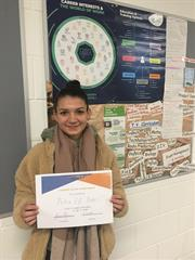 TY Student of the Week 20/11/2020