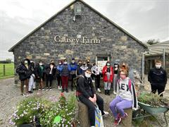 3rd Year Geography Trip to Causey Farm!